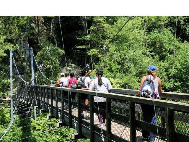 TG - Crossing the Suspension Bridge