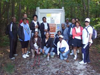 Chicopee Woods Preserve Hike Group
