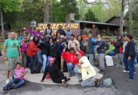 Group at Cumberland Caverns