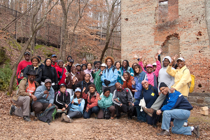 Sweetwater Creek Black History Hike Group
