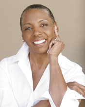 Carolyn Hartfield - white blouse