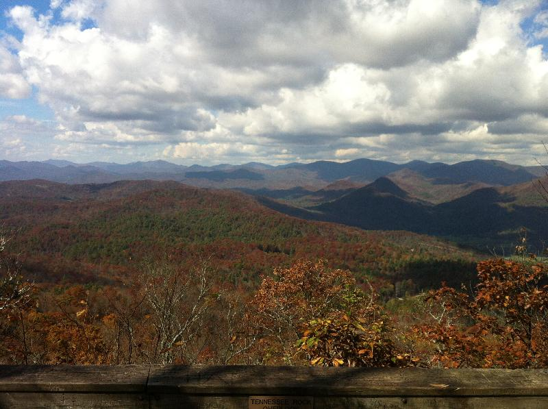 Black Rock Mountain - October 26, 2012