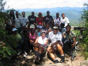 Black Rock Mountain Hike Group
