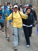 Sweetwater Creek Hike Group