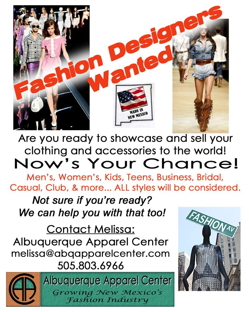Fashion Designers Wanted 8x10 April2012 web
