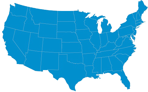 Thumbnail Map of the United States