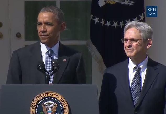 Obama and Supreme Court Nominee