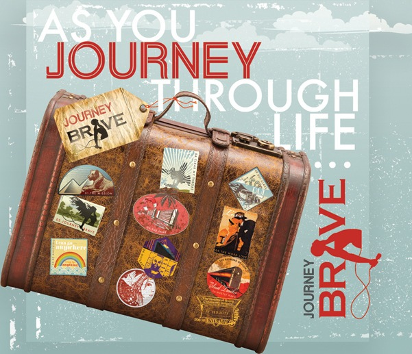 Journey Brave Album Cover(front)