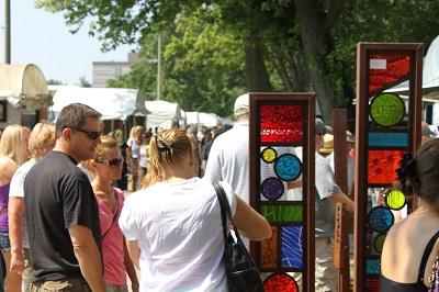 Art Fair Crowd 2012