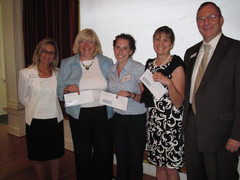 Liberty Bank Giving Circle Check Presentation
