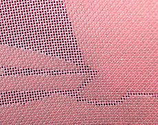 Screen print stencil