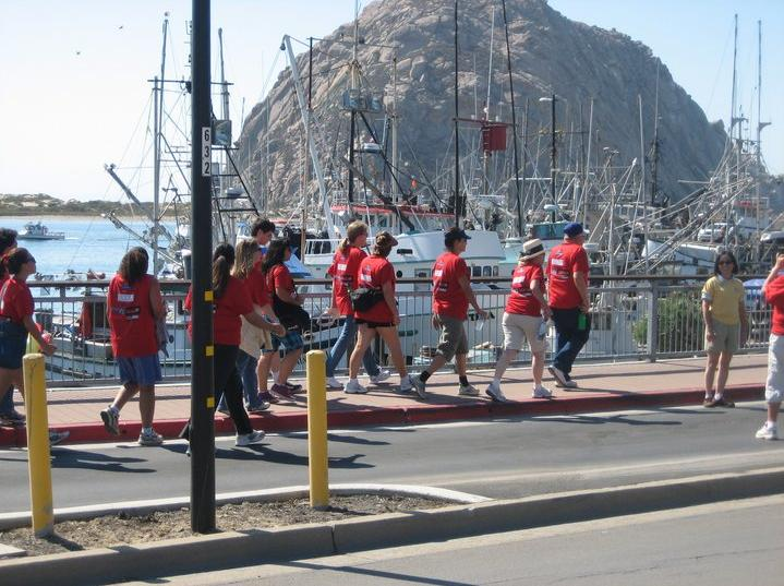 Hunger Walk - Morro Bay