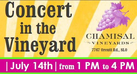 Concert in the vineyard 2012