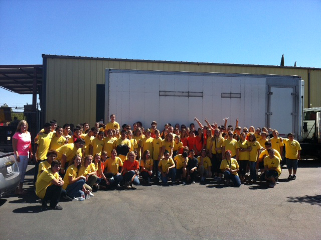 LDS Food Drive 2012