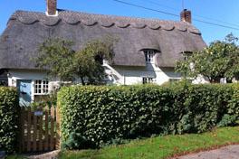 English village home exchange