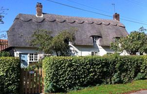 English cottage home exchange