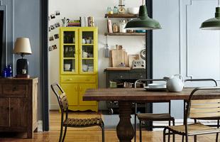 Trendy apartment in Brooklyn, New York