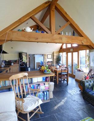 Fantastic home swap in the Cotswolds