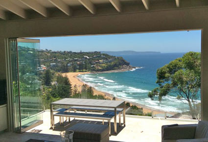 home swap in Whale Beach, Sydney