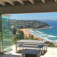 Beach view home exchange in Australia