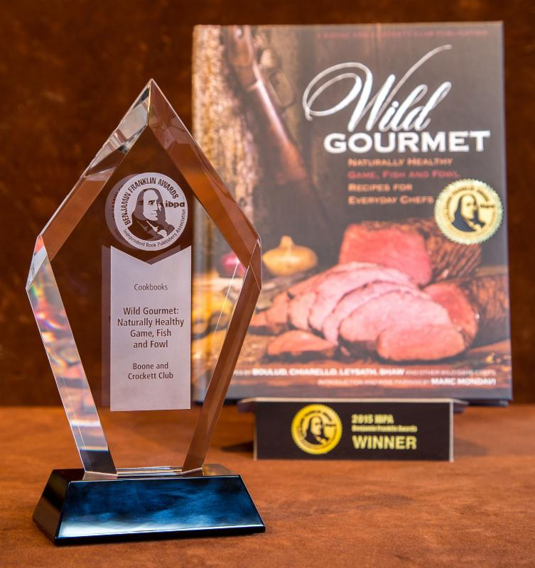 Wild Gourmet cookbook and award