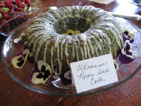Ukrainian Poppy Seed Cake