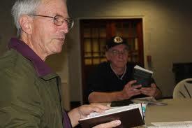 Homeless Book Club Meeting