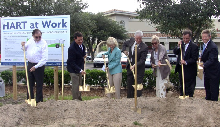 MetroRapid North-South Groundbreaking