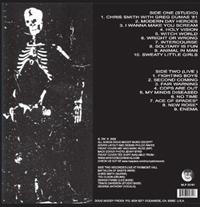 Battalion of Saints Album Back