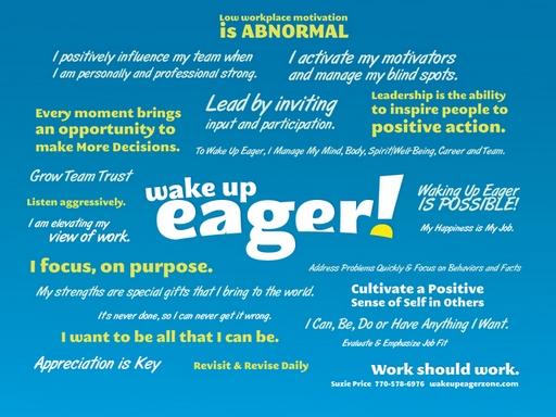 Wake Up Eager Manifesto