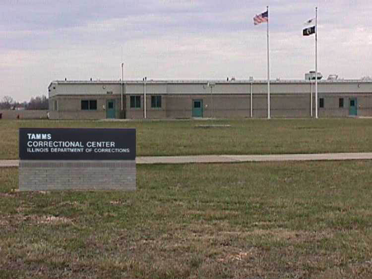 Tamms Correctional Center in Illinois