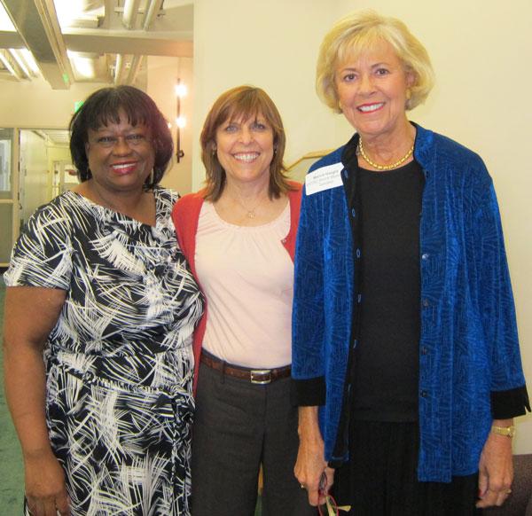 Charlene Lewis, Paula Pearlman, Marcia Haight