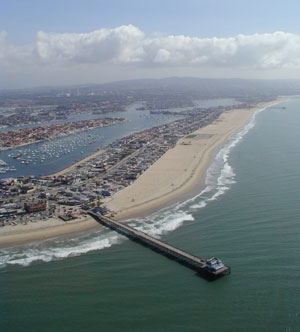 Aerial Photo of Newport Beach