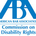 American Bar Association Commission on Disability Rights logo