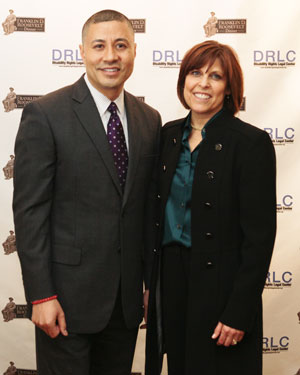Paula Pearlman and Craig Robinson