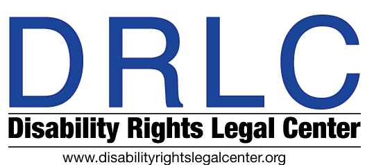 Disability Rights Legal Center logo. www.disabilityrightslegalcenter.org