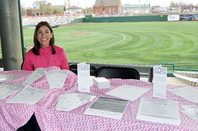 Jamie Ledezma at Komen Race in Indiana