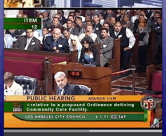Sri Speaks at LA City Council Meeting