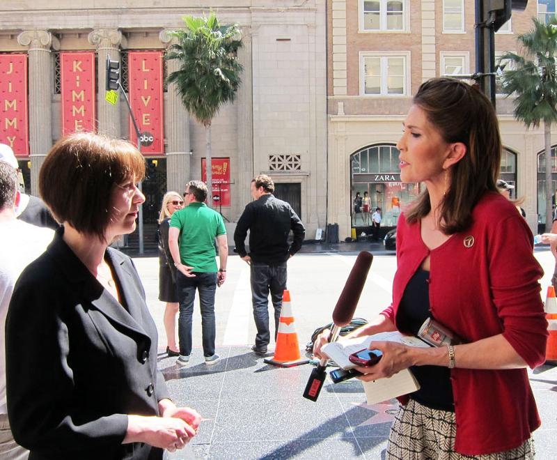 KABC Interviews Shawna Parks
