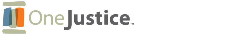 OneJustice Banner