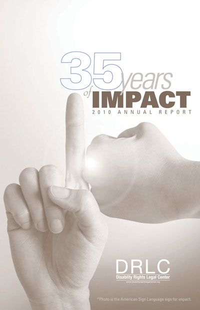 Cover of DRLC 2010 Annual Report