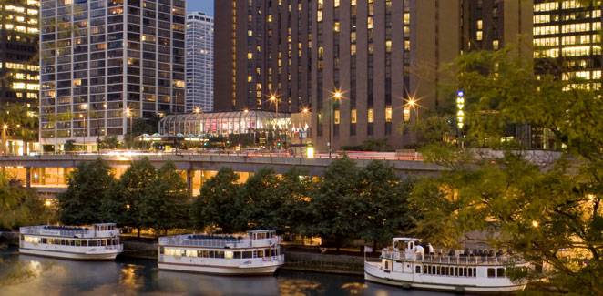 Chicago Hyatt on the Riverwalk