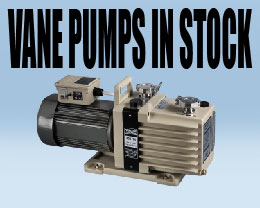 Vacuum Research Vane Pumps