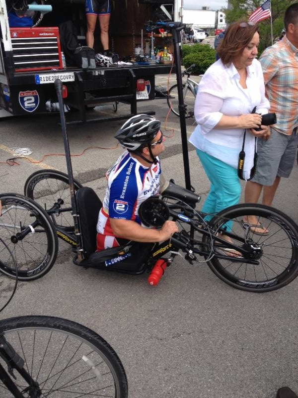 Inspiring Bike Rider