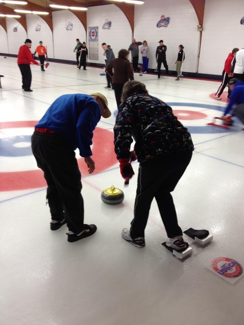Curling at Northbrook Curling Club