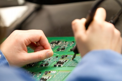 Hand solder training