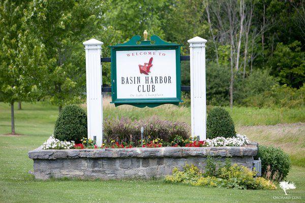 Basin Harbor Signage
