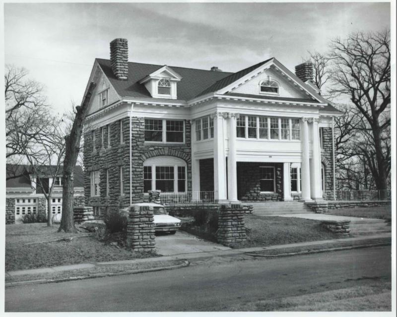 Danley Mansion donated in 1964