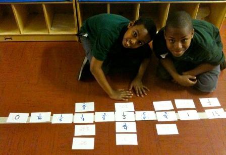 Fifth graders at Harlem Link