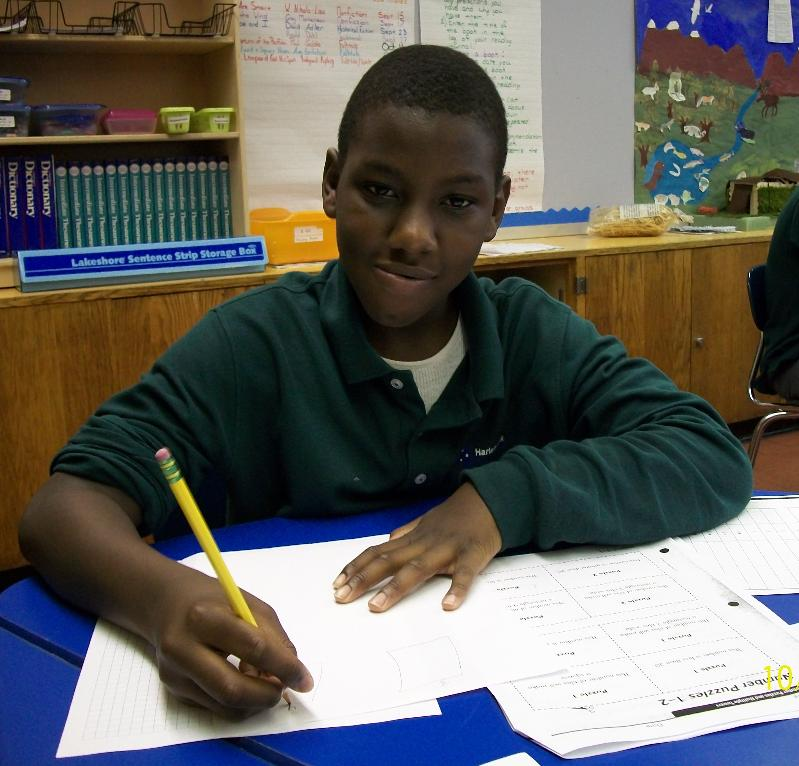 Dontay, a star senior at Harlem Link